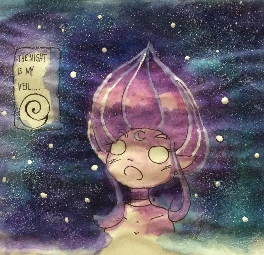 Galaxy Veil by AyanoHoshi