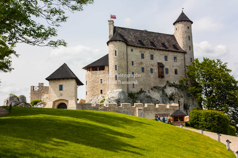 Castle in Bobolice by Evefidor