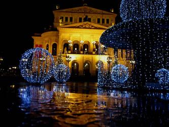 Merry Christmas in Frankfurt by Adderleg