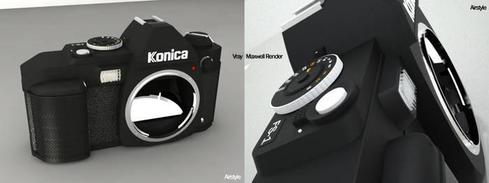 Konica Minolta FS-1 SLR Camera