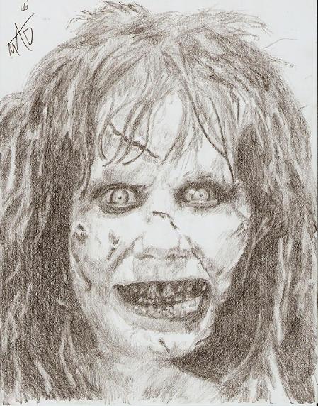 the exorcist by murdertz on deviantart