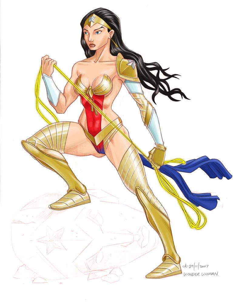 Wonder Woman by crayonslut