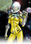 Space Girl 01