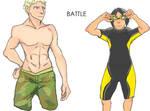 Attack on Titan -  Swimming  PvP