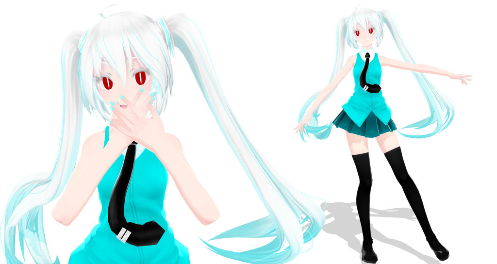 [Tda] Ruin Miku + DOWNLOAD by Orion-P