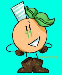 Naranjito es la mascota del mundial by latiapainting