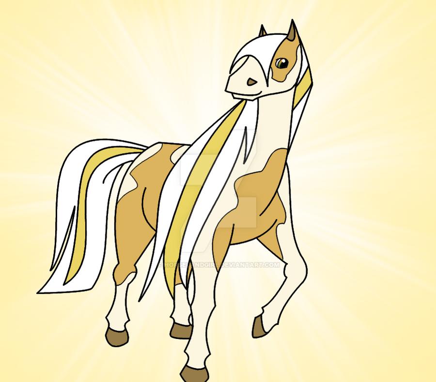 sunburst request by horselandgirl - Horseland Coloring Pages Sunburst