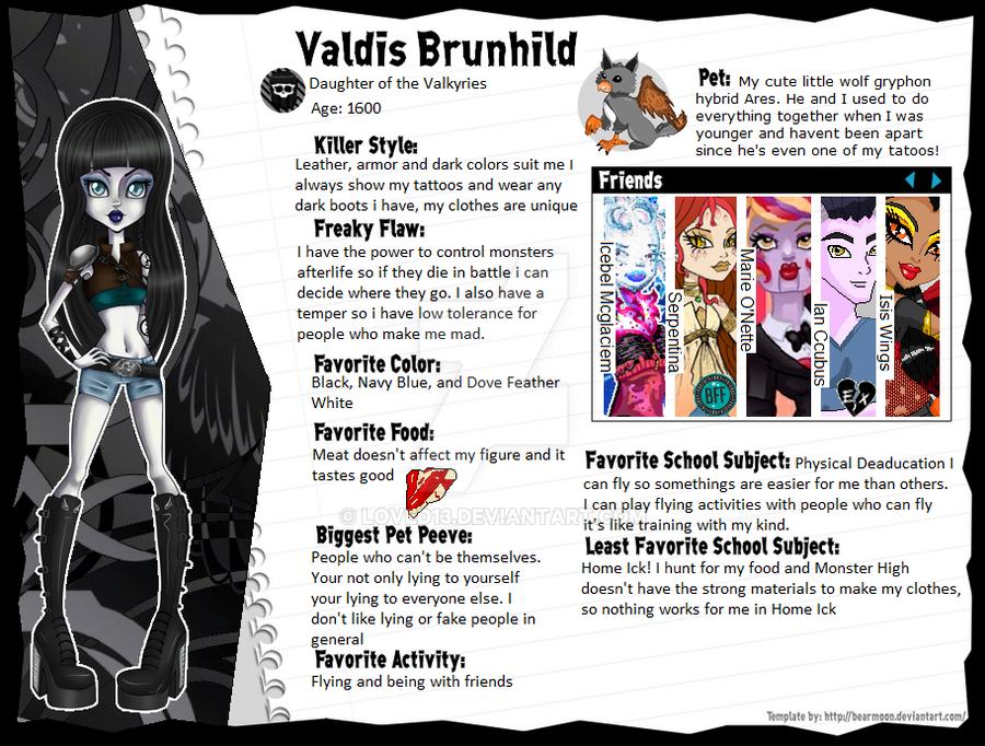 Valdis Bio by Loved13