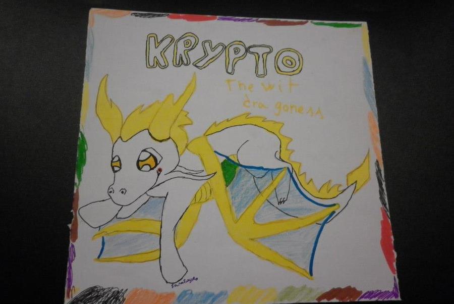 Mi arte :33 Kripto_by_saraspyro-d5pq5fn