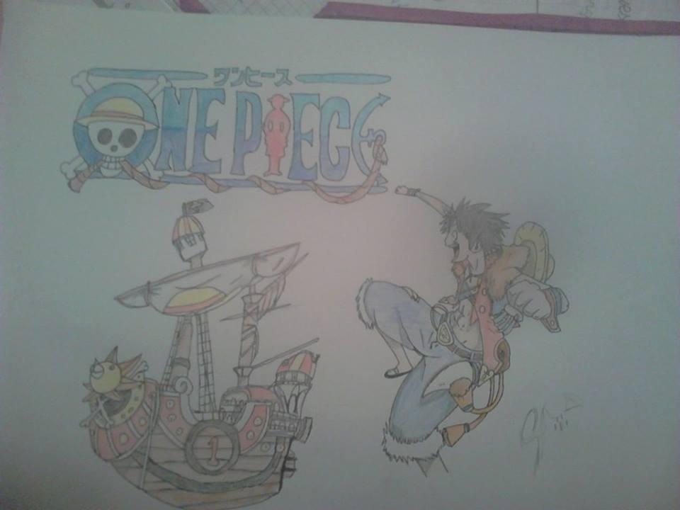 Mi arte :33 Luffy_by_saraspyro-d6w7o0y