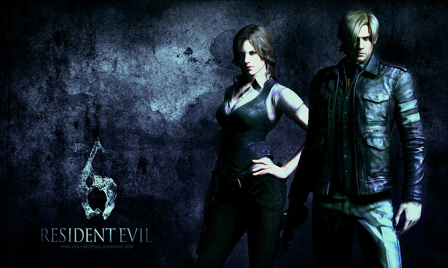 Resident Evil 6 wallpaper by Vicky-Redfield