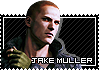 Jake Muller stamp by VickyxRedfield