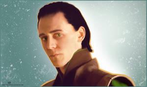 Tom Hiddleston: Loki portrait by CodeClaire