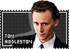 Tom Hiddleston stamp by VickyxRedfield