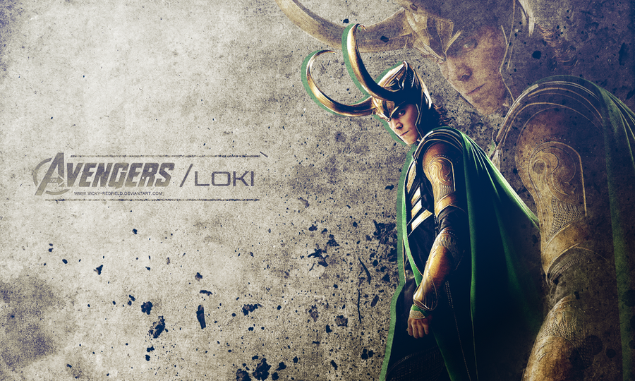 Loki wallpaper by VickyxRedfield