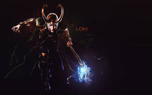 .: Loki wallpaper :. by CodeClaire