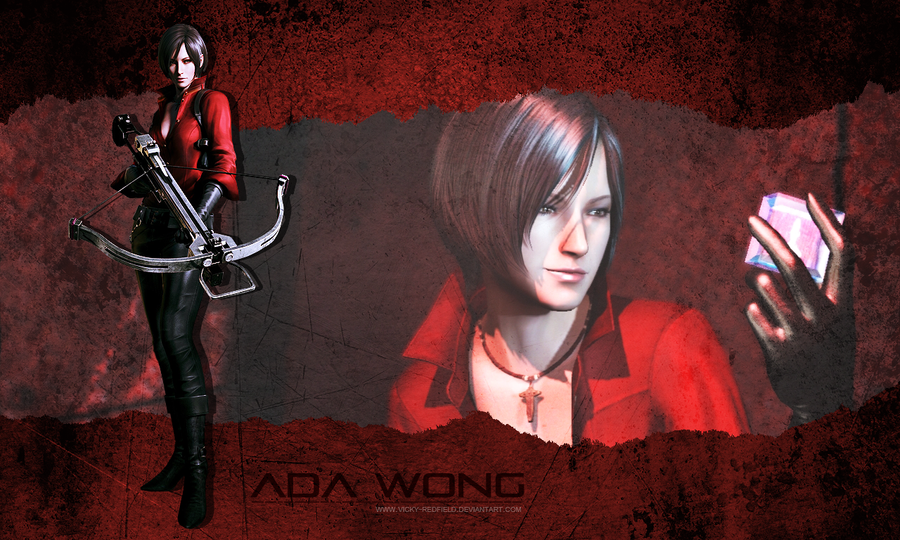 Ada Wong wallpaper by VickyxRedfield