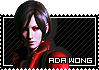 Ada Wong stamp by Queen-Stormcloak