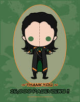 15 000 pageviews - Loki by CodeClaire