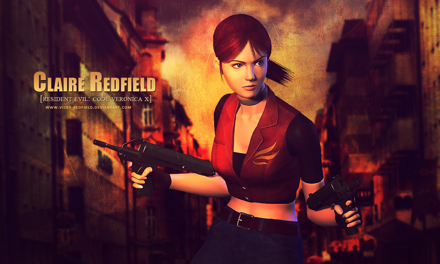 Claire Redfield RE CVX wallpaper by Queen-Stormcloak