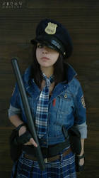 Helena Harper cosplay RE 6 Mercenaries