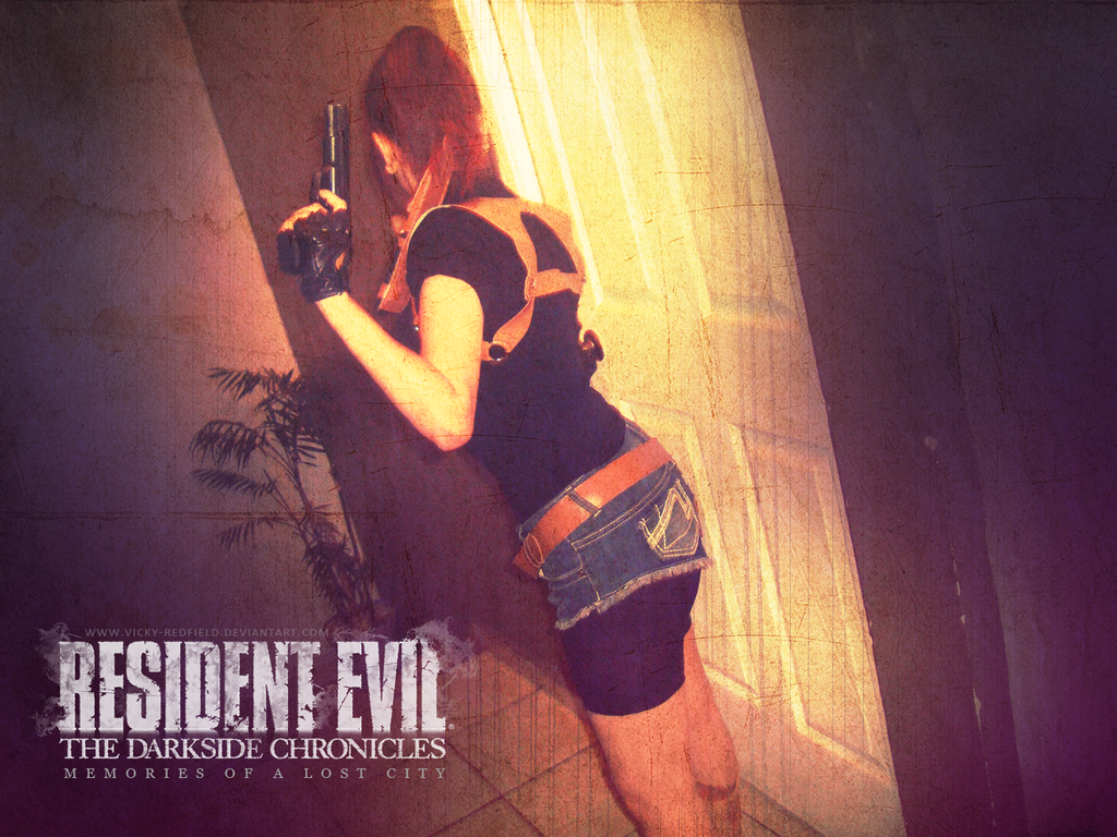Claire Redfield RE DC cosplay by VickyxRedfield