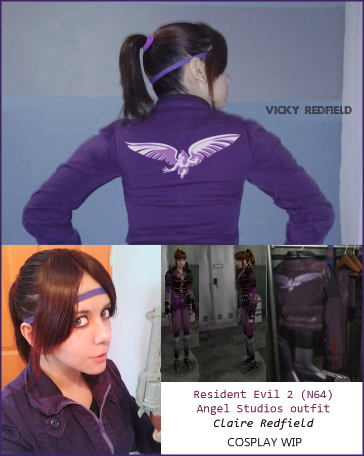 Resident Evil 2 N6A Claire Redfield cosplay by VickyxRedfield