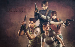 Resident Evil Wallpaper by CodeClaire