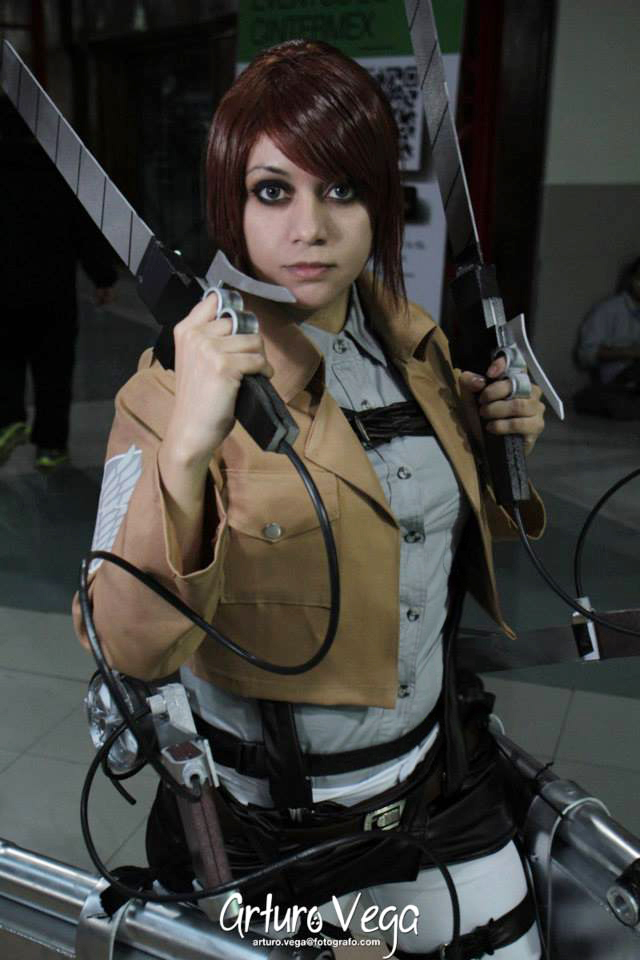 Sasha Braus cosplay by Vicky-Redfield