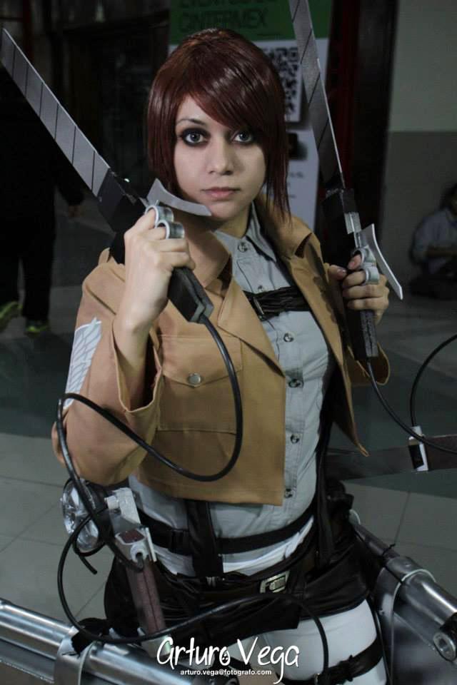 Sasha Braus cosplay by VickyxRedfield