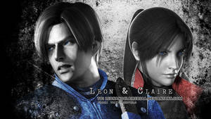 Leon S. Kennedy n Claire Redfield wallpaper by CodeClaire