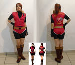 Claire Redfield cosplay - artwork 1