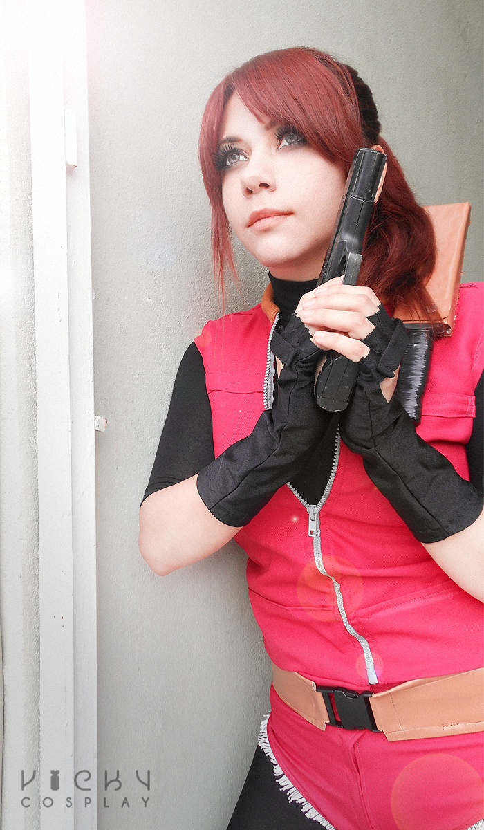 Resident Evil 2 cosplay - Claire Redfield by Vicky-Redfield