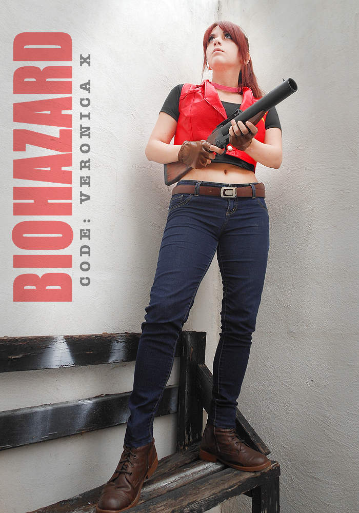 Claire Redfield cosplay - RE Code Veronica X by Vicky-Redfield