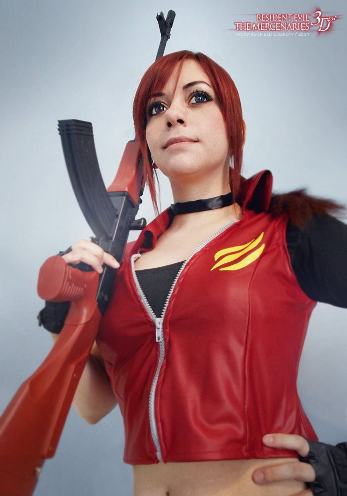 Claire Redfield - RE M3D by VickyxRedfield