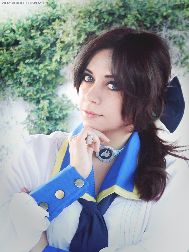 Bioshock Infinite - Elizabeth Comstock cosplay by Vicky-Redfield