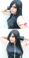 Tifa Lockhart cosplay - Final Fantasy AC by CodeClaire