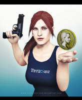 Claire Redfield x Coin by CodeClaire