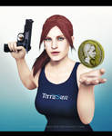 Claire Redfield x Coin