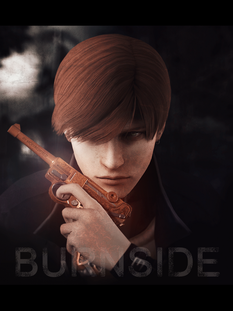 Steve Burnside by VickyxRedfield