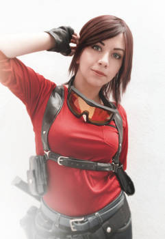 Claire Redfield sniper cosplay RE Rev 2