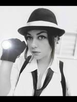 Claire Redfield noir version RE 2