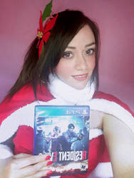 Claire Redfield Christmas