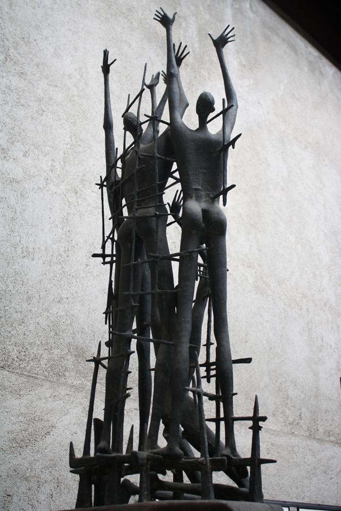 Martyrs of Auschwitz by DamaInNero