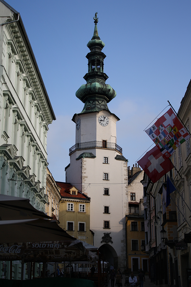 At Nine O'Clock In Bratislava by DamaInNero