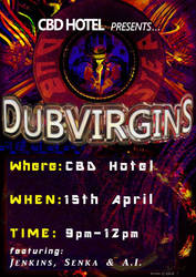 DUBVIRGINS Promotional Poster by jenkins08