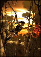 lara croft tomb raider by illyne