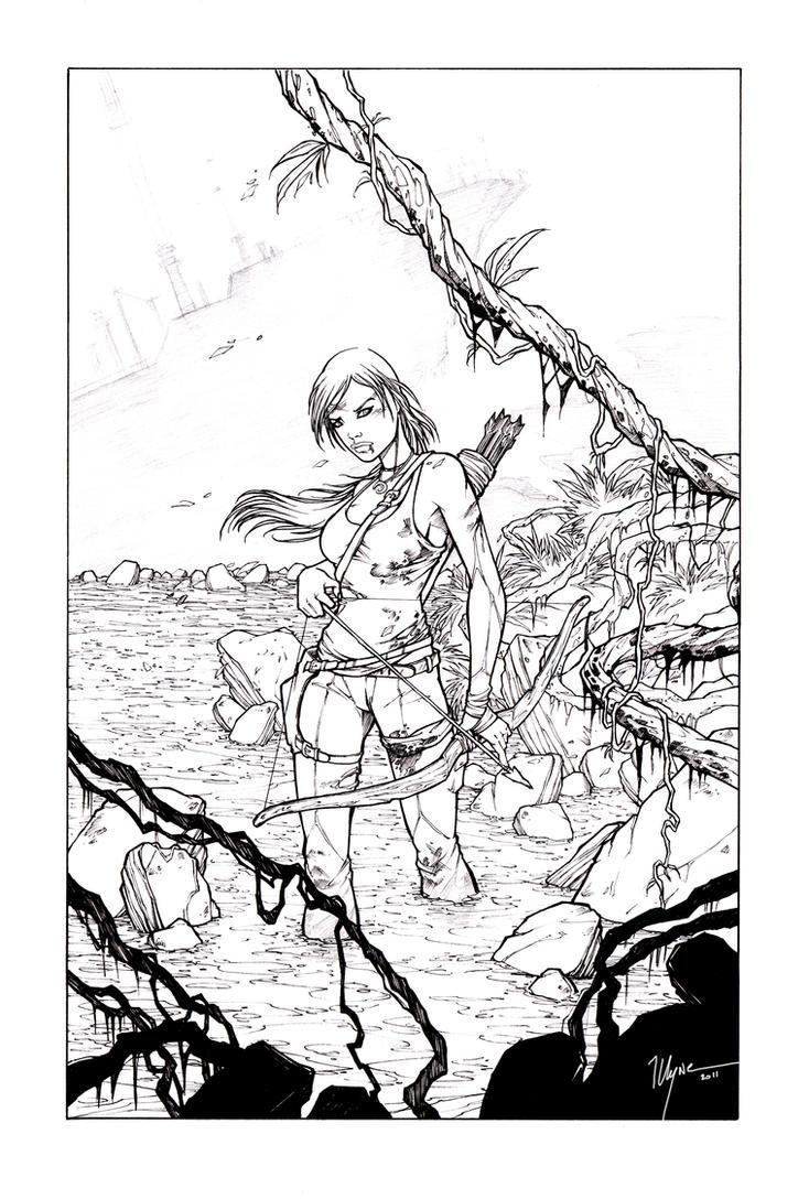 Lara Croft Reborn by illyne