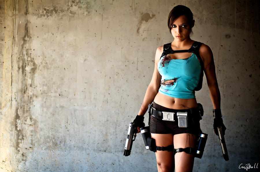 Lara Croft 3 by illyne