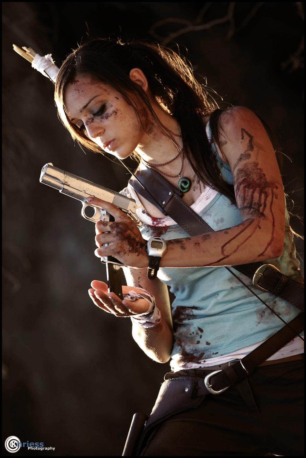 Lara Croft by Khriess by illyne